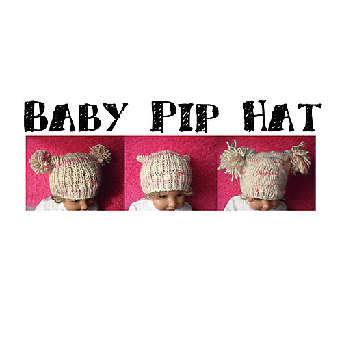 Baby Pip Hat Pattern