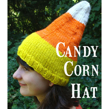 Peculiar Ambitions Candy Corn Hat