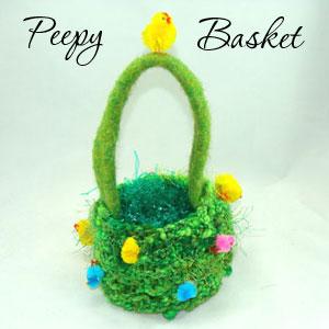 Peepy Basket Pattern