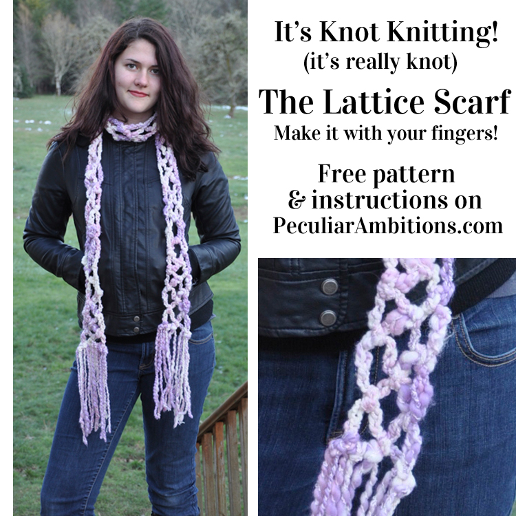 It S Knot Knitting It S Really Knot The Lattice Scarf Peculiar Ambitions,Brandy Alexander Cocktail